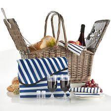 Picnic Basket Set Vintage Picnic Basket Set Ebay