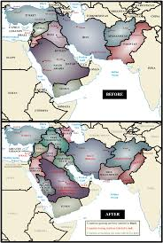 A Map Of The Middle East by If The Borders Of The Middle East Were Based On Ethnic And