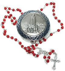 free rosary here sterling silver our of fatima rosary box pill box from