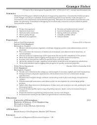 Failure Analysis Engineer Resume Amazing Material Engineer Resume Contemporary Simple Resume
