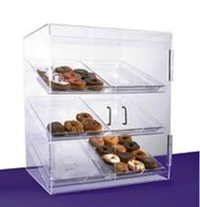 Acrylic Display Cabinet Displays By Rioux Six Tray Pastry Display Cabinet Fixture