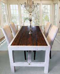 long narrow dining table a bench dining room decoration