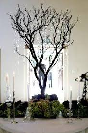 Tree Centerpiece Wedding by Sold Out Gatsby House Crystal Manzanita Tree Wedding Centerpiece
