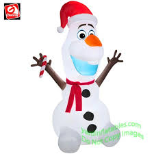 Inflatable Snoopy Christmas Yard Decorations by Christmas Inflatables