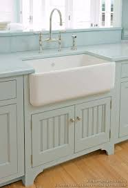 Victorian Kitchen Sinks by Traditional Blue Kitchen Cabinets 05 Crown Point Com Kitchen