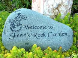 Engraved Garden Rocks Personalized Garden Stones River Rocks Engraved Rock