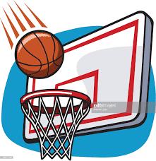 cartoon basketball hoop vector art getty images