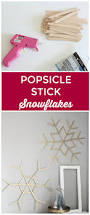 popsicle stick snowflakes popsicles snowflakes and sticks