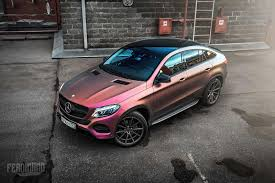 pink mercedes truck how do you feel about this mercedes gle u0027s color changing wrap