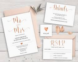 wedding invitation sle sale 40 gold wedding invitation suite template