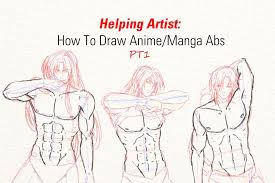 How To Draw Female Anatomy Helping Artist How To Draw Anime Manga Abs Pt1 Youtube