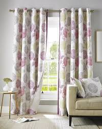 Black Eyelet Curtains 66 X 90 Avril Lined Eyelet Curtains In Berry Free Uk Delivery Terrys