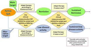 treating axial spondyloarthritis and peripheral spondyloarthritis