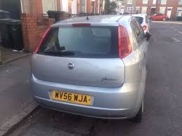 fiat grande punto manual 2006 1 2l petrol 5 doors grey