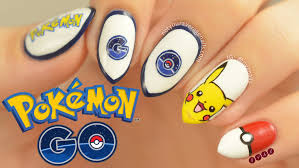 pokémon go nail art tutorial youtube