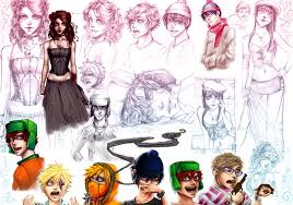 sketches south park by rivan145th on deviantart