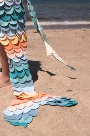mermaid tails for halloween mermaid tail costume amazing how simple this came together