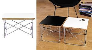 eames wire side table eames wire base table furnishings better living through design