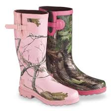 s boots pink realtree s ms jojo boots 234750 rubber
