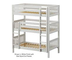 Maxtrix HOLY Twin Triple Bunk Bed Bed Frames Matrix Furniture - Maxtrix bunk bed