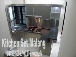 Kitchen Set Minimalis Hitam Putih Kitchen Set Kota Malang Furniture Furniture Minimalis