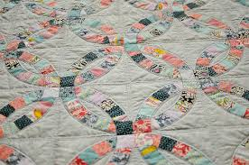 Double Wedding Ring Quilt by Double Wedding Ring Quilt Make Something