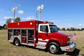 2001 pierce freightliner light u0026 air emergency rescue unit used