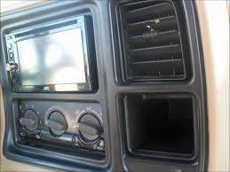 2002 chevy tahoe double din install youtube