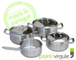 batterie cuisine inox set batterie de cuisine inox série professionnelle à induction