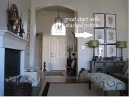 how to decorate a two story foyer two story foyer tall ceilings