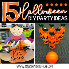 halloween party classroom ideas 15 diy halloween party ideas for the classroom one sharp bunch