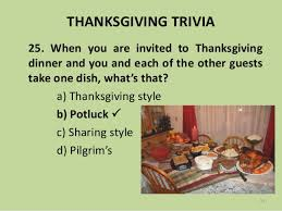 thanksgiving trivia 2017