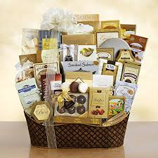 salmon gift basket dreaming of a white christmas ultimate gourmet gift basket http