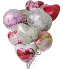 mylar balloon bouquets anniversary balloon bouquet 12 mylar balloons make their