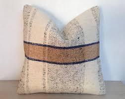 Ottoman Pillow Cushion by Vintage Kilim Pillow Etsy