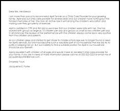 child care cover letters 28 images child care provider