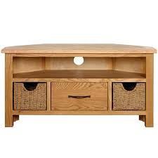 tv stand sidmouth oak corner tv stand light oak tv stand with