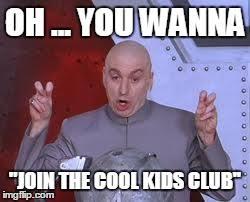 Evil Kid Meme - dr evil laser meme imgflip