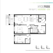 den floor plan parkcity u0027s one bedroom plus den floor plans are the perfect fit
