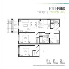 Den Floor Plan Parkcity U0027s One Bedroom Plus Den Floor Plans Are The Perfect Fit