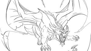 how to draw a dragon step by step drawing pencil