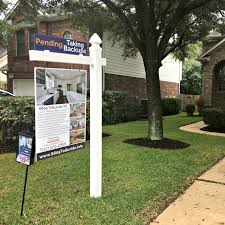 custom real estate for sale sign sell home austin