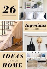 26 ingenious ideas for your home design sponge