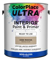 Durable Interior Paint Colorplace Ultra Interior Paint U0026 Primer In One 1 Gallon
