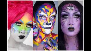 Diy Halloween Makeup by Top 15 Diy Halloween Makeup Tutorials Compilation By Onlinekyne