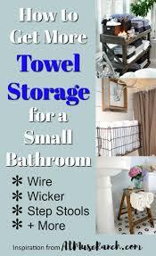 the 25 best towel storage small bathroom ideas on pinterest