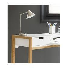 bureau en acier bobby les de table noir métal habitat