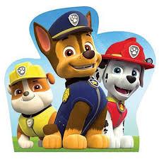 chase rubble marshall paw patrol cardboard cutout standup
