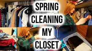 spring cleaning closet spring cleaning my closet youtube
