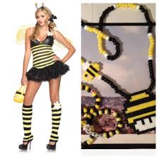 halloween costume u0026 club kandi matches bee kandi set edmoholics